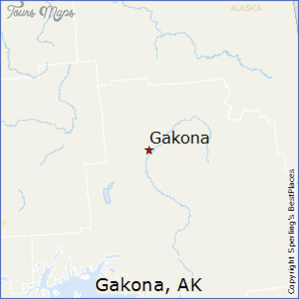 gakona alaska map 6 Gakona Alaska Map
