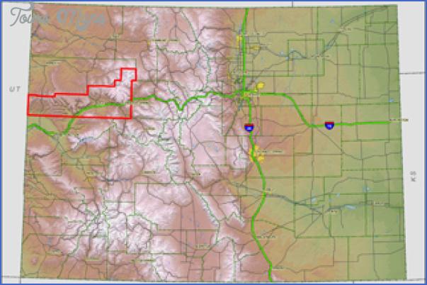 garfield county colorado map 3 Garfield County Colorado Map