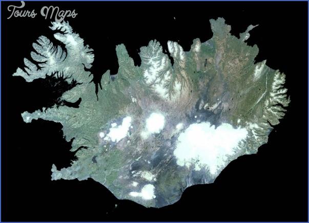 iceland map 7 Iceland Map