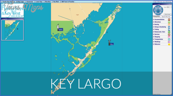 Map Of Florida Key West.Map Of Florida Keys Toursmaps Com