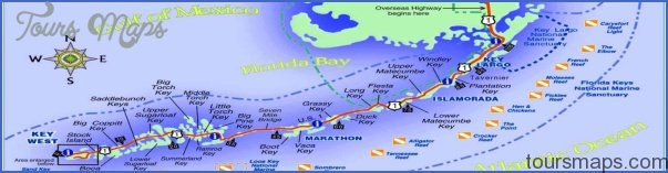 Florida Keys Maps.Map Of Florida Keys Toursmaps Com