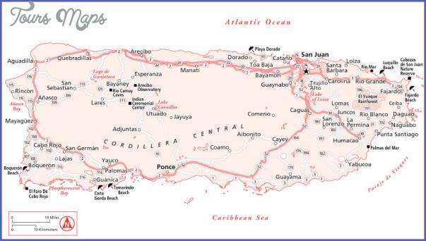 map of puerto rico free 40 Map of Puerto Rico Free