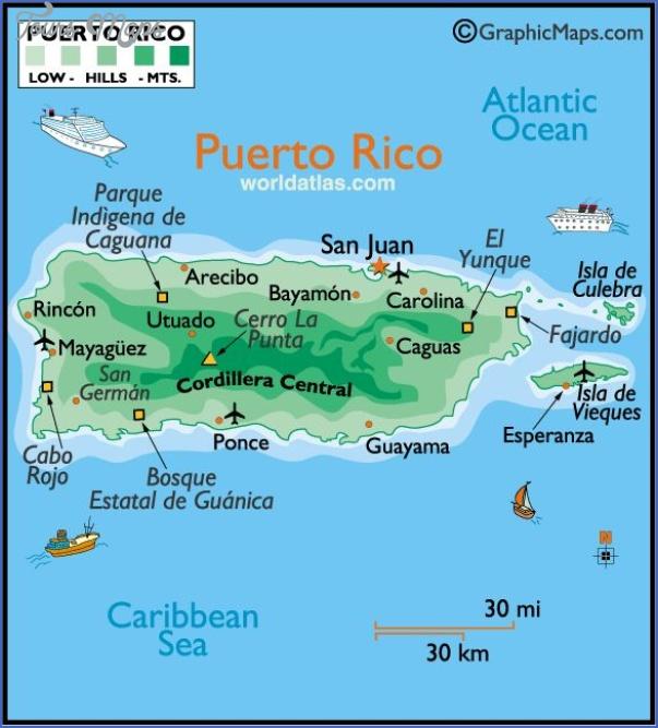 map of puerto rico free 9 Map of Puerto Rico Free
