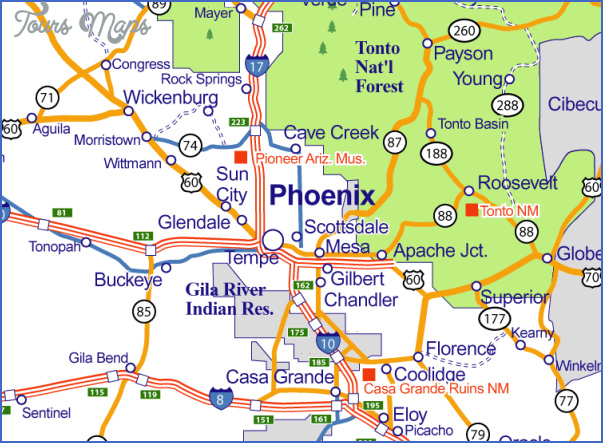 map of scottsdale arizona 21 Map of Scottsdale Arizona