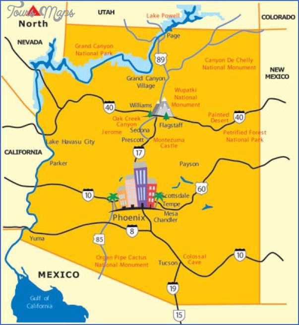 map of scottsdale arizona 3 Map of Scottsdale Arizona