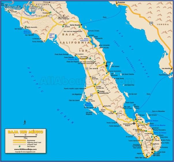 maps of baja california mexico 19 Maps of Baja California Mexico