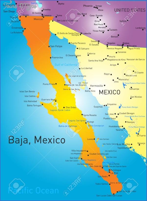 maps of baja california mexico 20 Maps of Baja California Mexico