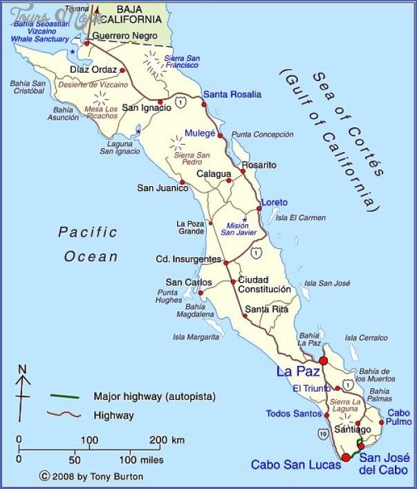 maps of baja california mexico 28 Maps of Baja California Mexico
