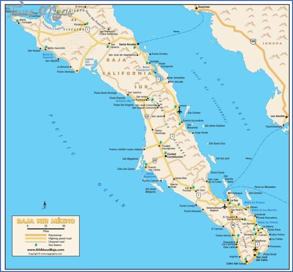 maps of baja california mexico 3 Maps of Baja California Mexico