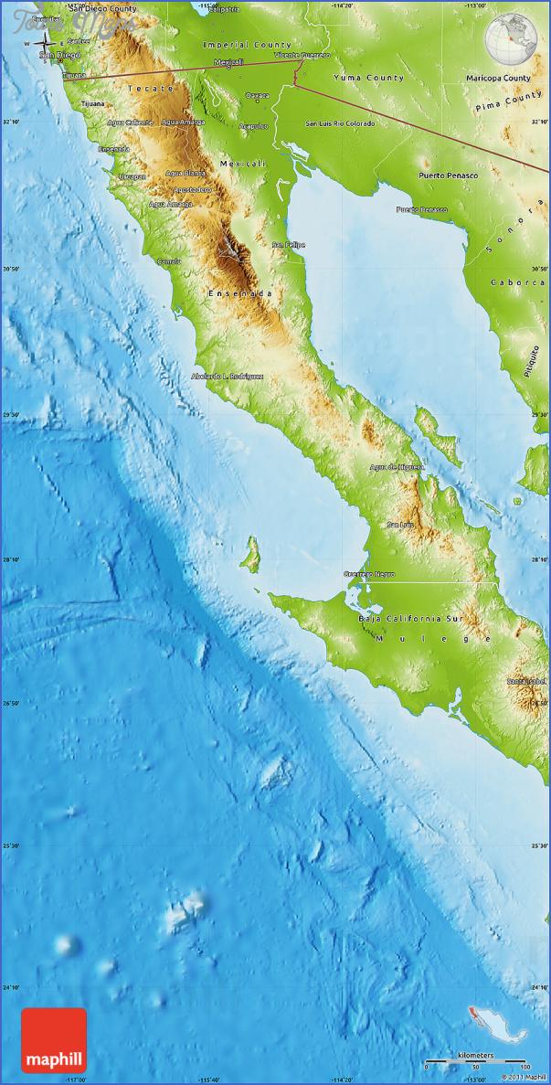 maps of baja california mexico 5 Maps of Baja California Mexico