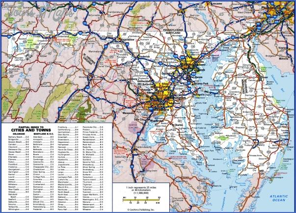 maryland map 3 MARYLAND MAP