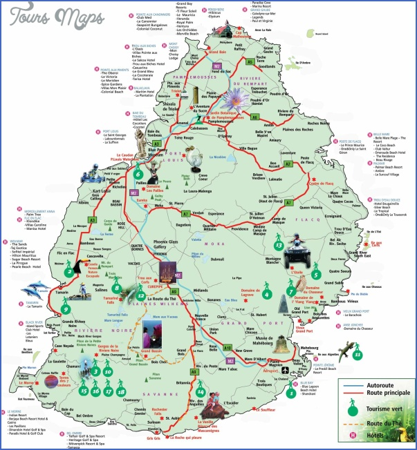 mauritius map 13 Mauritius Map
