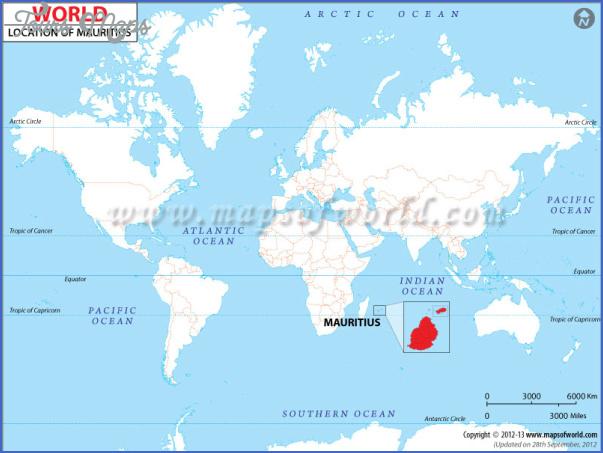 mauritius map 2 Mauritius Map