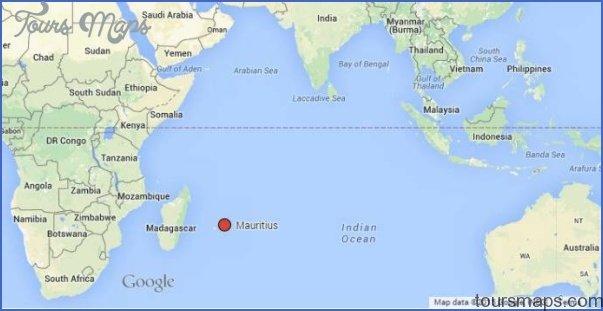 Mauritius Map ToursMapscom