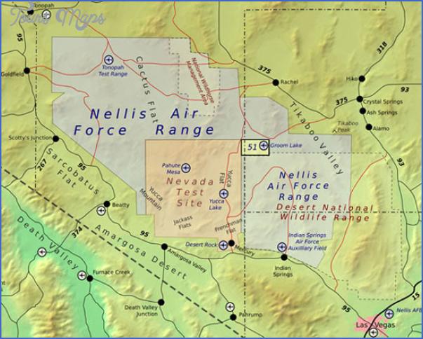 mercury nevada map 1 Mercury Nevada Map