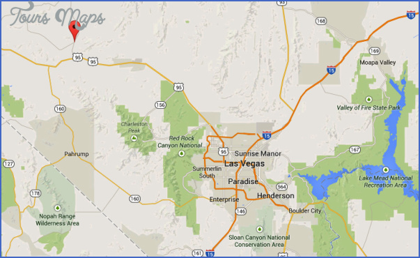 mercury nevada map 6 Mercury Nevada Map
