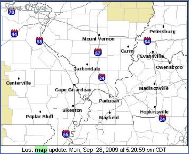 paducah kentucky map 2 Paducah Kentucky Map
