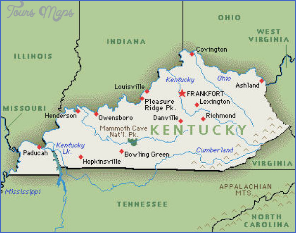 Paducah Ky Map My Blog - Ky map