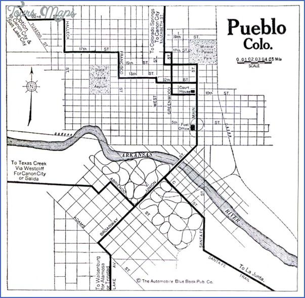pueblo colorado map 10 Pueblo Colorado Map