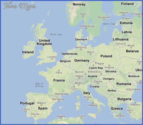 Romania Map Google - ToursMaps.com