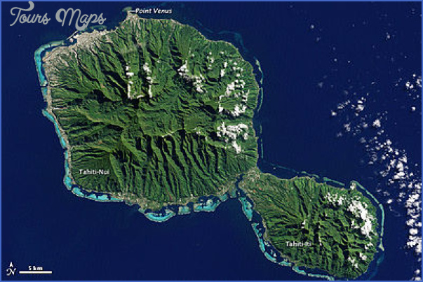 tahiti map 11 Tahiti Map