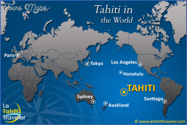 tahiti map 23 Tahiti Map