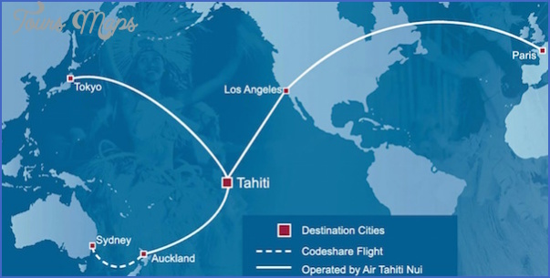tahiti map 5 Tahiti Map