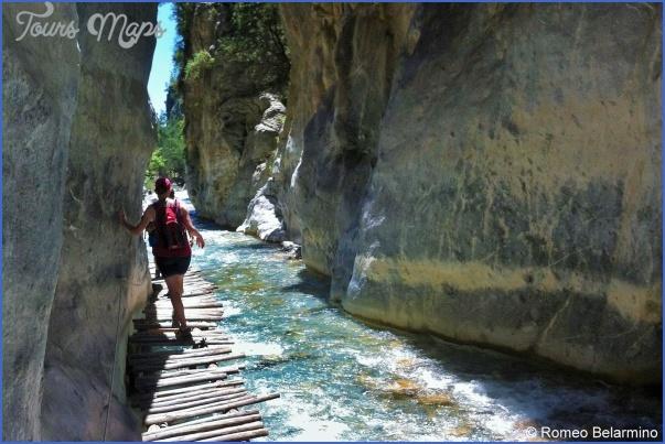 the samaria gorge 2 The Samaria Gorge