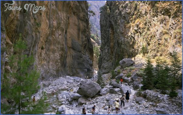 the samaria gorge 5 The Samaria Gorge