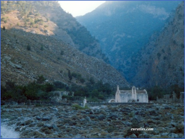 the samaria gorge 7 The Samaria Gorge