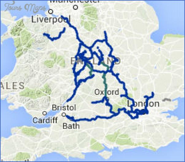 canal maps uk 10 Canal Maps Uk