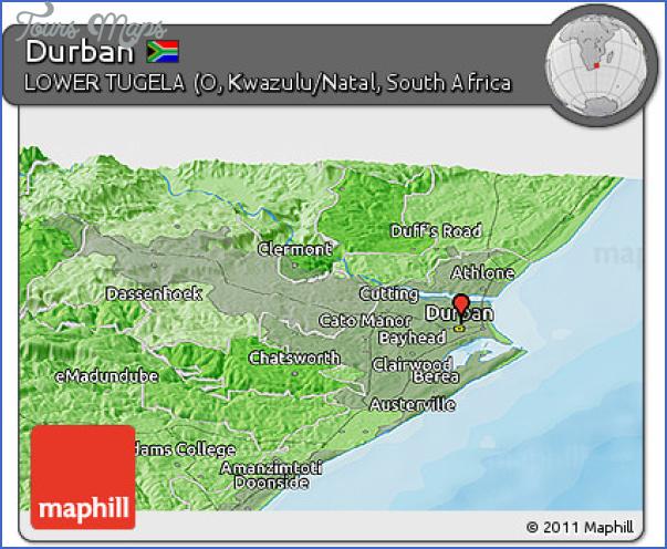 durban free maps 10 Durban Free Maps