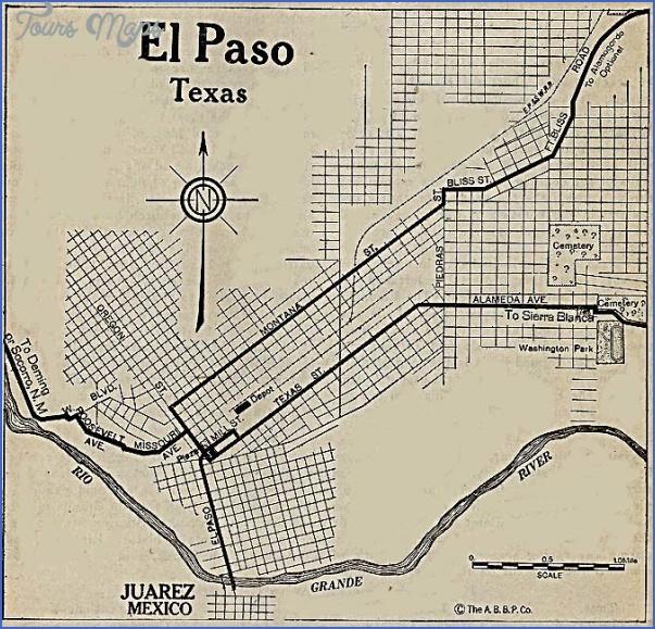 el paso texas map 3 El Paso Texas Map