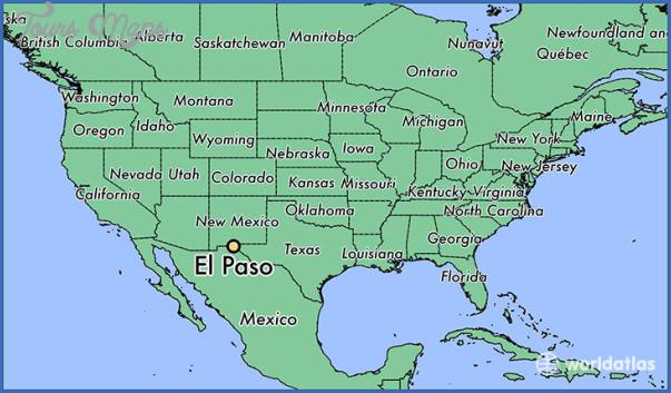 el paso texas map 6 El Paso Texas Map