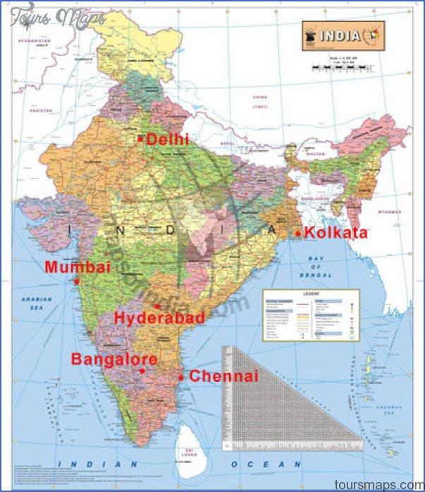 india free maps  5 India Free Maps