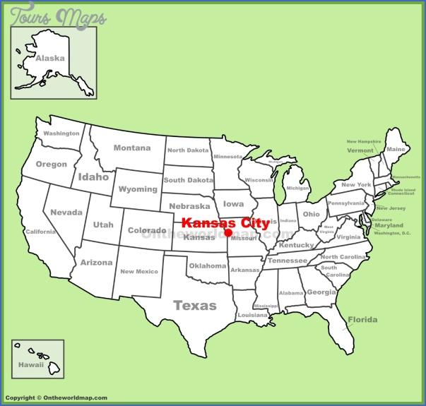 kansas city map us 2 Kansas City Map Us