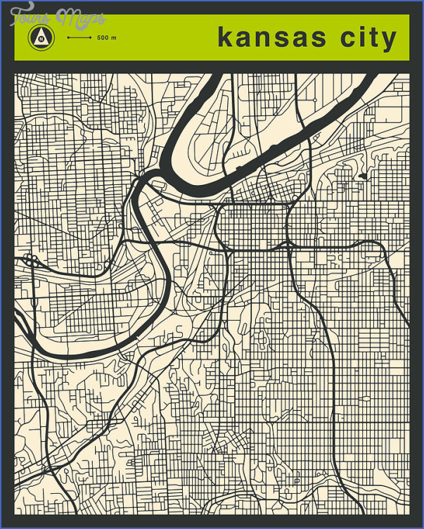 kansas city street map 15 Kansas City Street Map