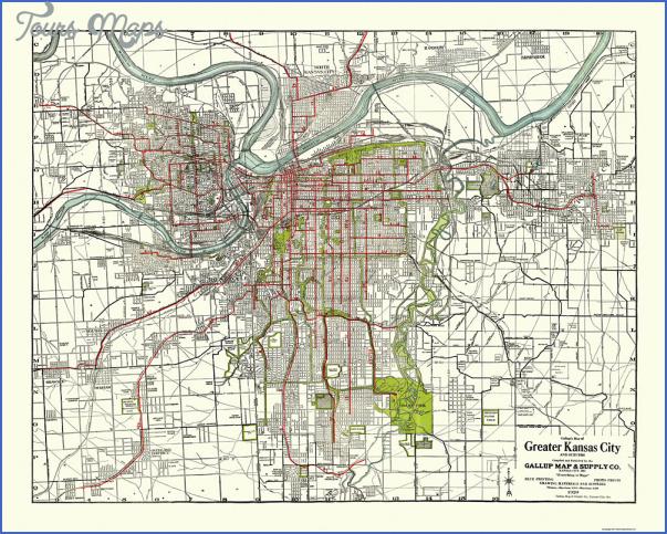 kansas city street map 22 Kansas City Street Map