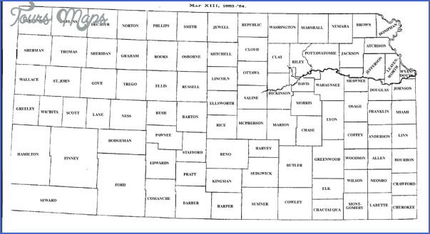 kansas county maps 10 Kansas County Maps