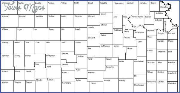 kansas county maps 11 Kansas County Maps