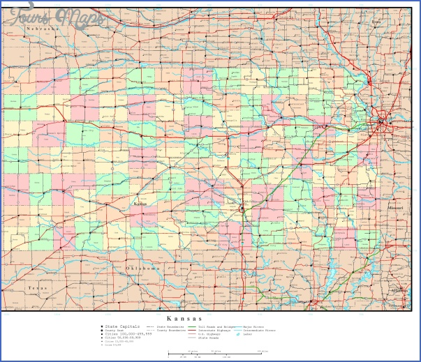 kansas county maps 3 Kansas County Maps