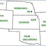 kansas oklahoma map 13 150x150 Kansas Oklahoma Map