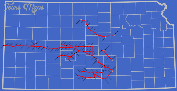 kansas oklahoma map 15 Kansas Oklahoma Map