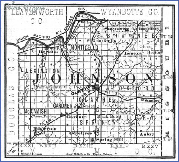 map of johnson county kansas 2 Map Of Johnson County Kansas