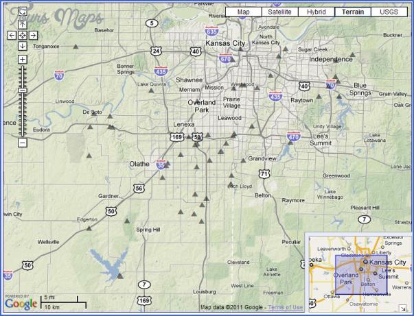 map of johnson county kansas 6 Map Of Johnson County Kansas