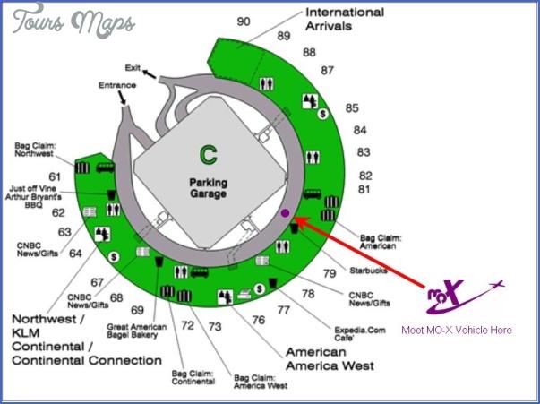 map of kansas city airport 3 Map Of Kansas City Airport