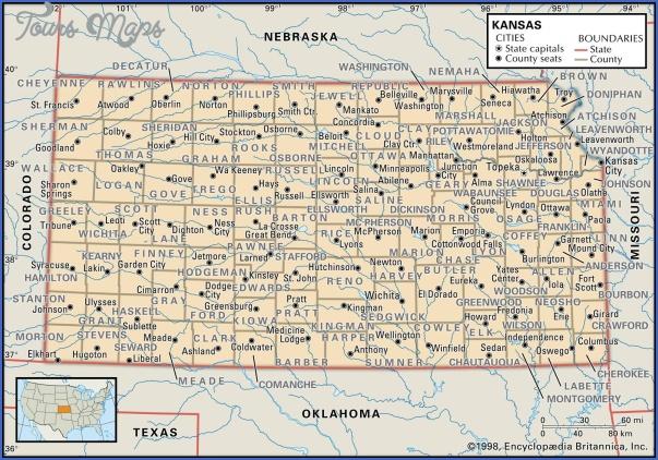 maps of kansas 1 Maps Of Kansas