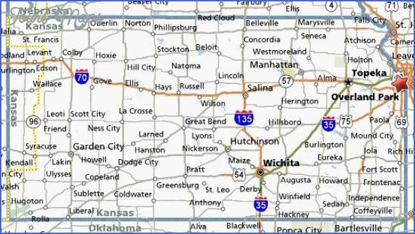 maps of kansas 11 Maps Of Kansas