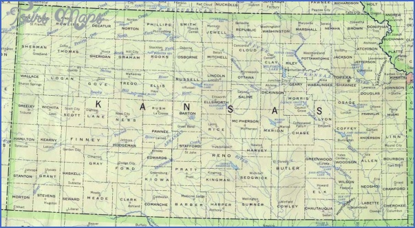maps of kansas 2 Maps Of Kansas