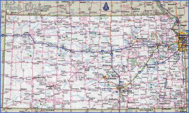 maps of kansas 6 Maps Of Kansas